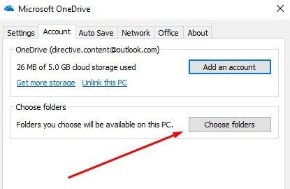 Sync OneDrive Files
