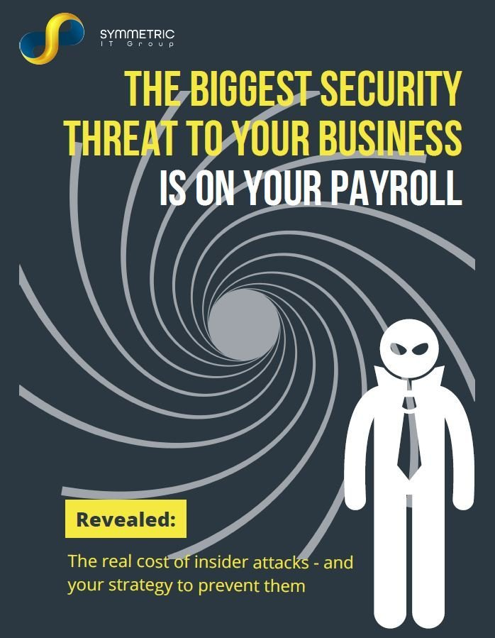 Symmetric IT Group - Biggest Security Threat